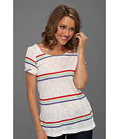 Splendid - Hermose Slub Stripe Scoop Back Tee
