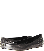 McQ - Metallic Brush Flat with Studs