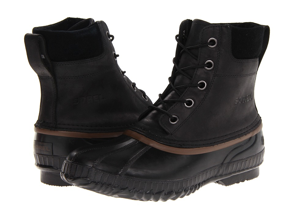 SOREL - Cheyanne Lace Full Grain (Black/Dark Brown) Men