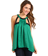 BCBGMAXAZRIA - Irene Sleeveless Cutout Top