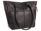 Tignanello - Perfect Pockets Tote (Black) - Bags and Luggage