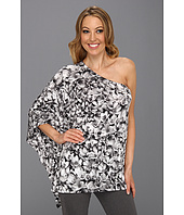 MICHAEL Michael Kors - Wildflower One Shoulder Poncho