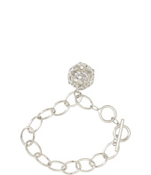 GUESS - Toggle Chain Bracelet w/ Cutout Flower