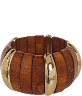 GUESS - Wide Wood Stretch Bracelet