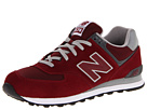 New Balance Classics M574 Burgundy SP 2013 Shoes