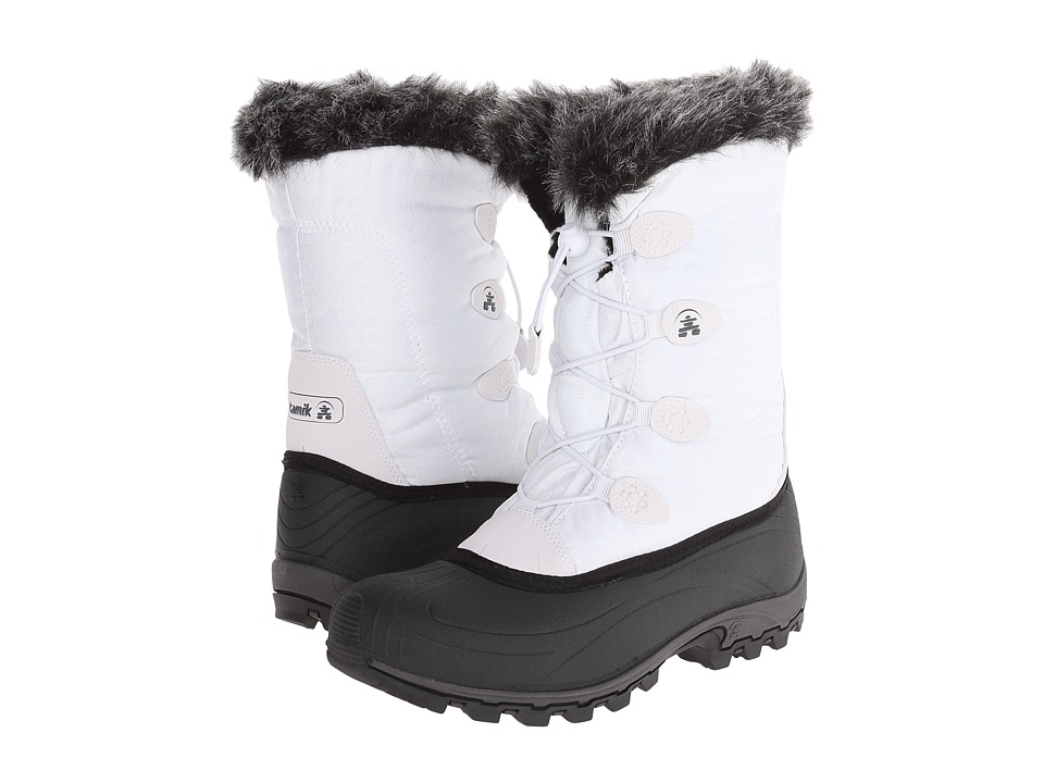 Kamik Momentum White Womens Cold Weather Boots
