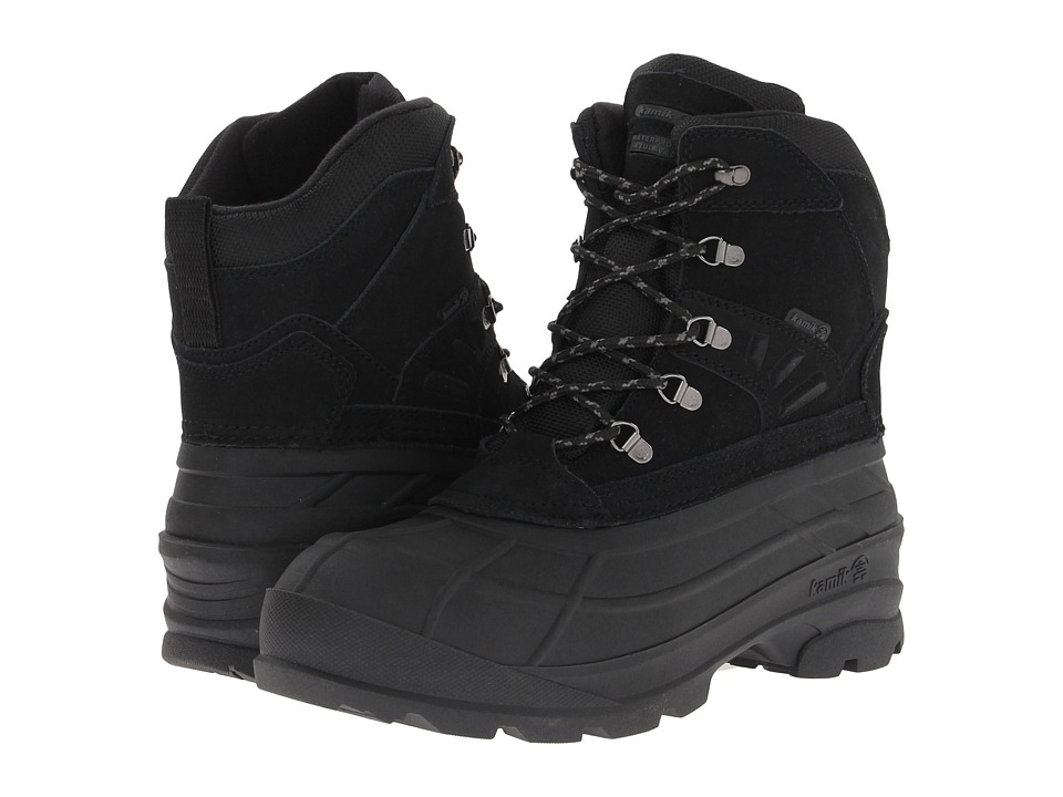 Kamik - Fargo (Black 2) Mens Cold Weather Boots