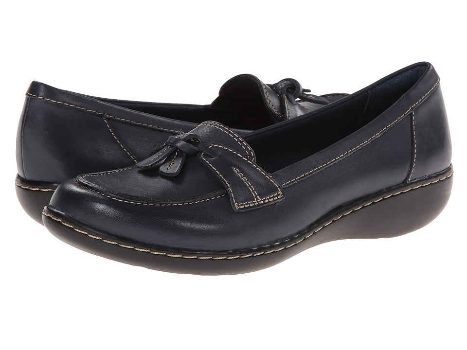 Clarks Ashland Bubble (Navy) Slip-On Shoes