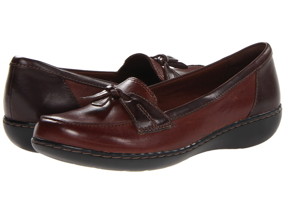 Clarks Ashland Bubble (Brown Multi) Slip-On Shoes