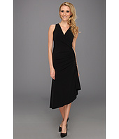 MICHAEL Michael Kors - MJ Sleeve Chain Zip Asymmetrical Dress