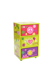 Mele - Daisy Girls Peace & Love Jewelry Box