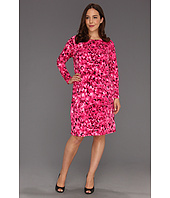 MICHAEL Michael Kors Plus - Plus Size Wildflower MJ Longsleeve Dress