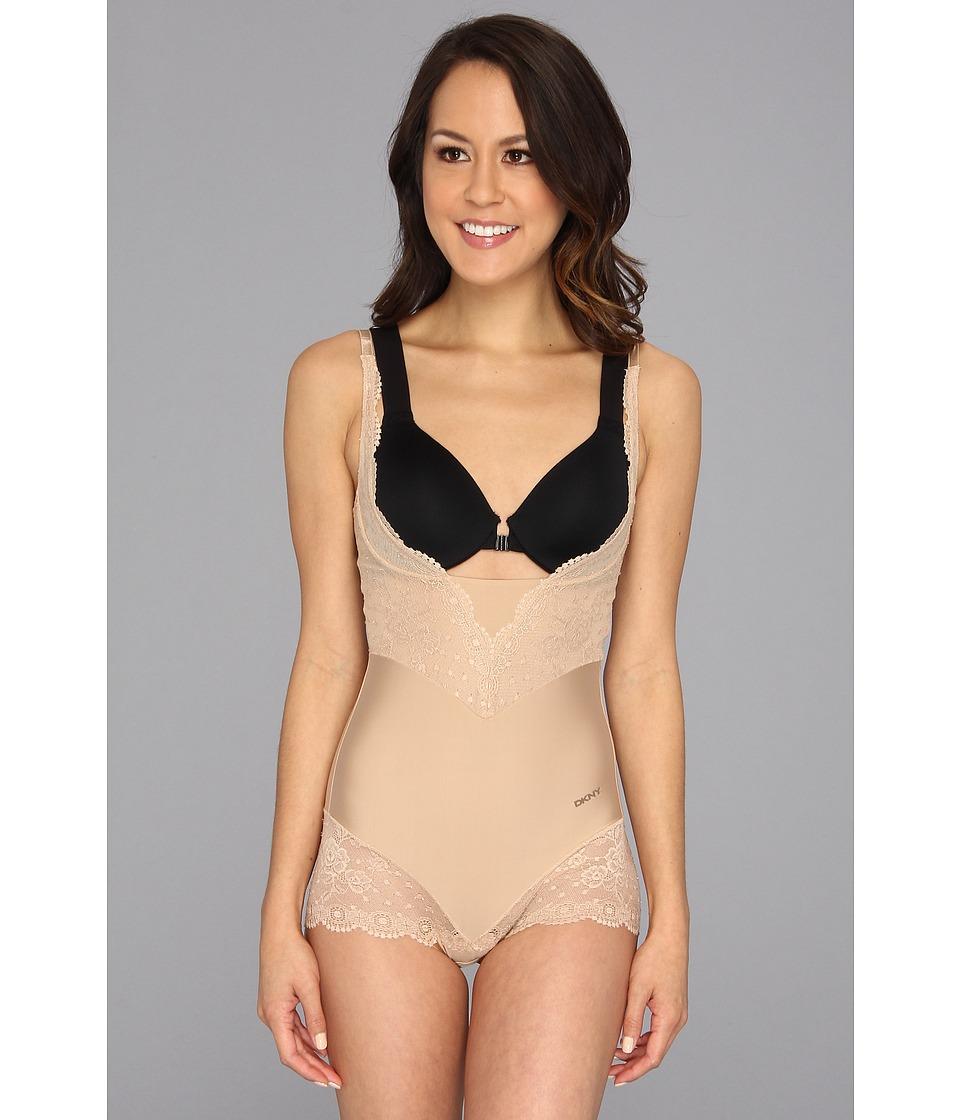 DKNY Intimates - Seductive Lights Sexy Slim Wear Your Own Bra Body Briefer 666112 (Skinny Dip) Women's Underwear
