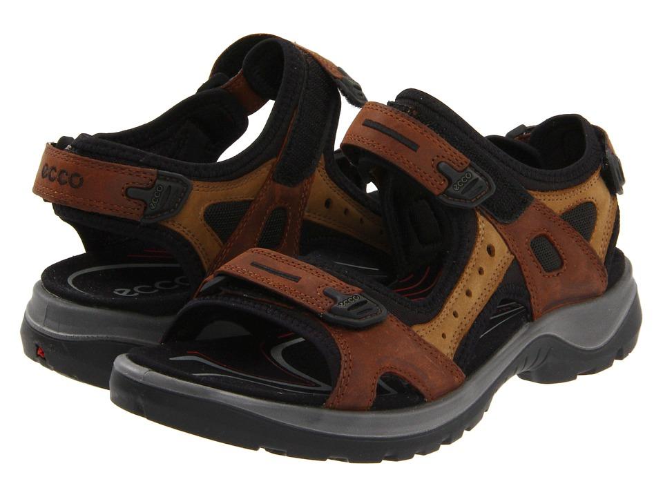 ECCO Sport Yucatan Sandal Bison/Mineral Womens Sandals