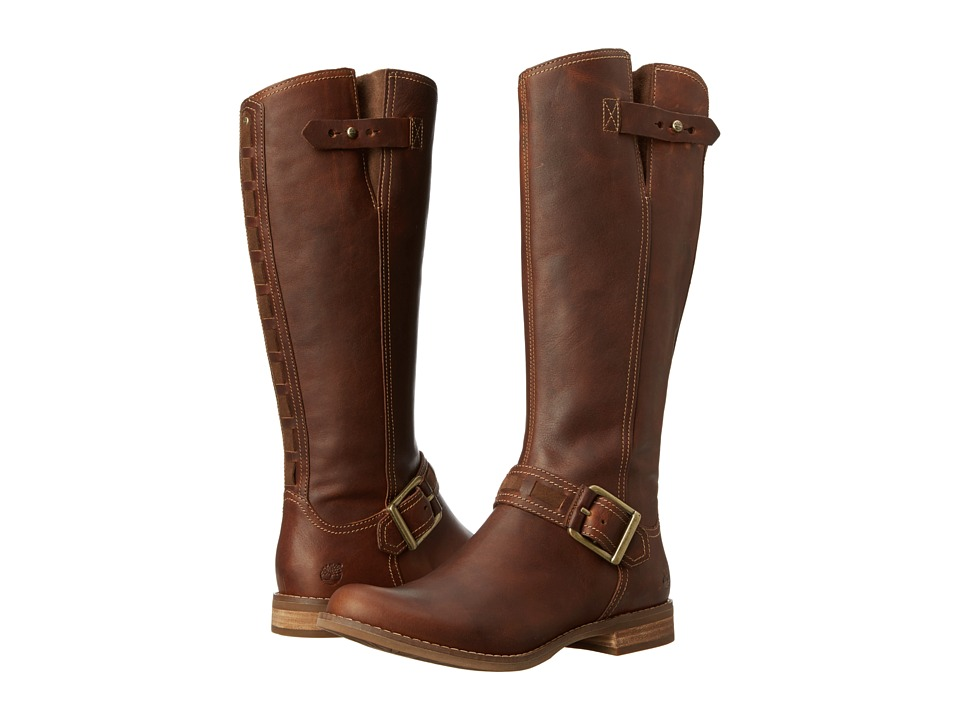 Timberland - Earthkeepers Savin Hill Tall Boot (Tobacco Fort Leather) Women