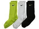 Nike Kids Dri Fit Cotton Cushion Crew3 Pair Pack