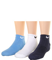 Nike Kids - Youth Cotton Cushion Moisture Management Low Cut 3-Pair Pack