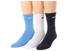 Nike Kids Cotton Cushion Moisture Management Crew Sock 3-Pair Pack