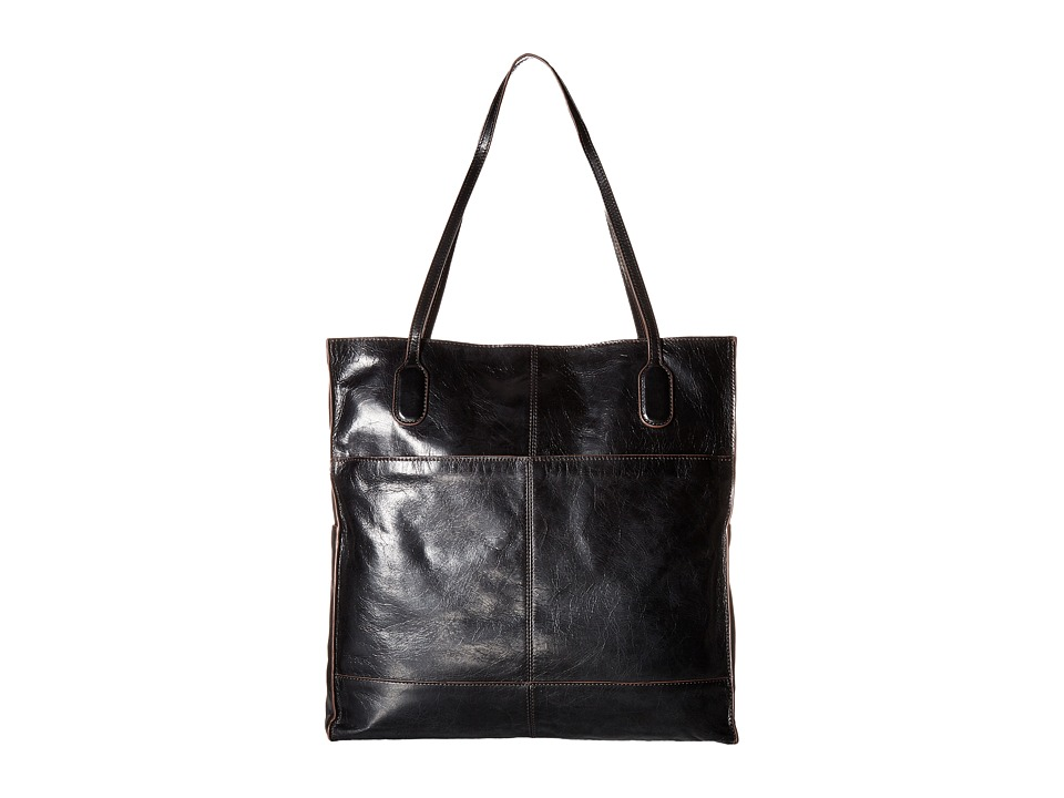 Hobo - Finley (Black Vintage Leather) Tote Handbags