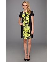 MICHAEL Michael Kors - English Garden Short Sleeve Zip Dress