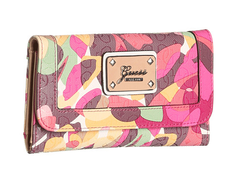 Online Bag Store : GUESS Airun Slim Clutch