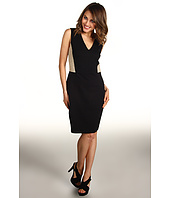 DKNYC - Sleeveless V-Neck Dress W. La