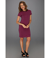 MICHAEL Michael Kors Petite - Petite Short Sleeve Crewneck Dress