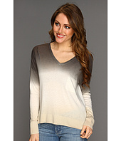 C&C California - L/S Ombre V-Neck Sweater