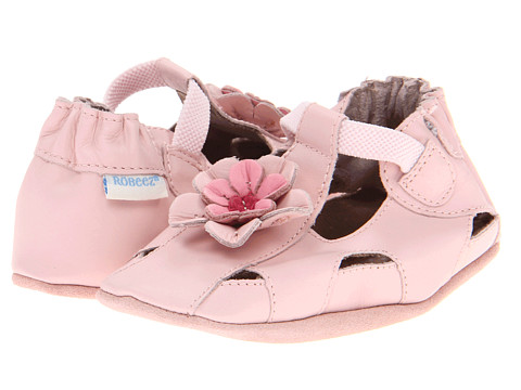 Robeez Pretty Pansy Soft Soles (Infant/Toddler) - Pink