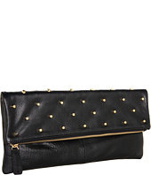 BCBGMAXAZRIA - Raina Leather Foldover Clutch