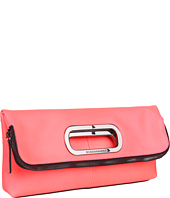 BCBGMAXAZRIA - Leather Foldover Clutch