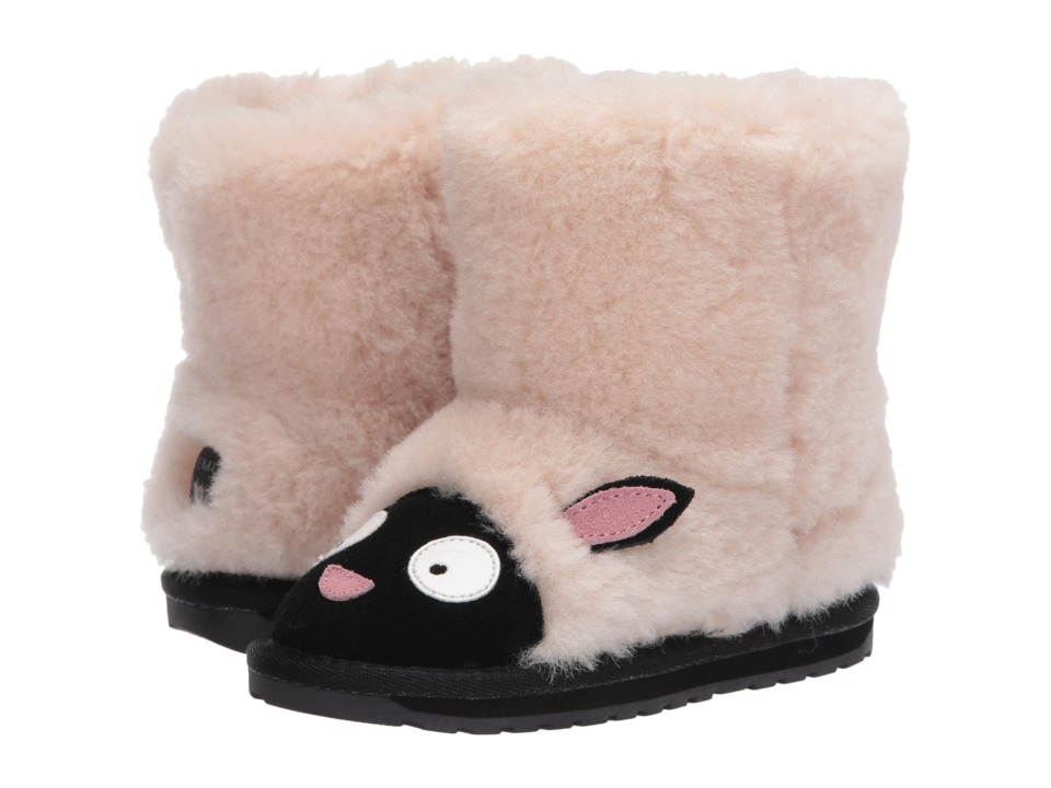 EMU Australia Kids Little Creatures Lamb (Toddler/Little Kid/Big Kid) (Natural) Girls Shoes