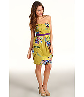 Vince Camuto - Strapless Pleated Front Dress