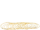 LAUREN Ralph Lauren - 20 Bangle Set (Gold)