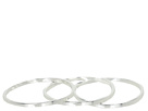 LAUREN Ralph Lauren - 3 Organic Bangle Set (Silver)