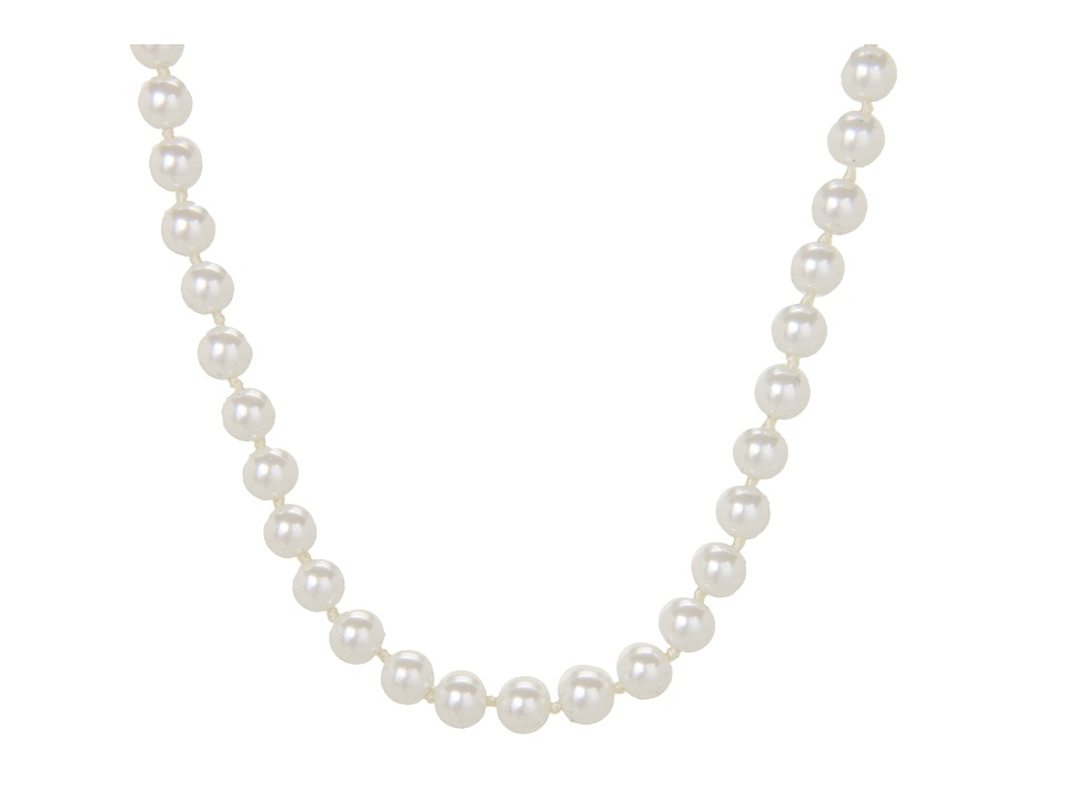 LAUREN Ralph Lauren - 16 6MM Pearl Foldover Clasp Necklace