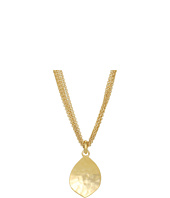 LAUREN Ralph Lauren - 5 Row Chain Necklace w/Teardrop Pendant
