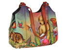 Anuschka Handbags - 469 (Precious Pups) - Bags and Luggage