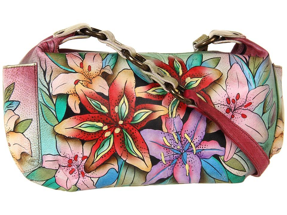 Anuschka Handbags - 506 (Luscious Lilies) Shoulder Handbags