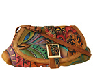 Anuschka Handbags - 499 (Patchwork Garden) - Bags and Luggage