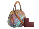 Anuschka Handbags - 503 (Dancing Peacock) - Bags and Luggage