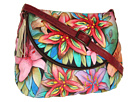 Anuschka Handbags - 482 (Luscious Lilies) - Bags and Luggage
