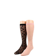 Kate Spade New York - Heart to Heart Knee High (2 Pack)