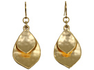 LAUREN Ralph Lauren - Hammered Double Teardrop Earrings (Gold)
