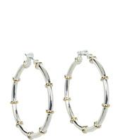 LAUREN by Ralph Lauren - Medium Hoops w/ Gold Rings