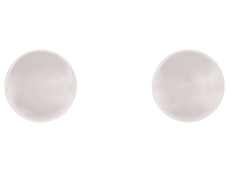 LAUREN Ralph Lauren - 12MM Silver Ball Studs