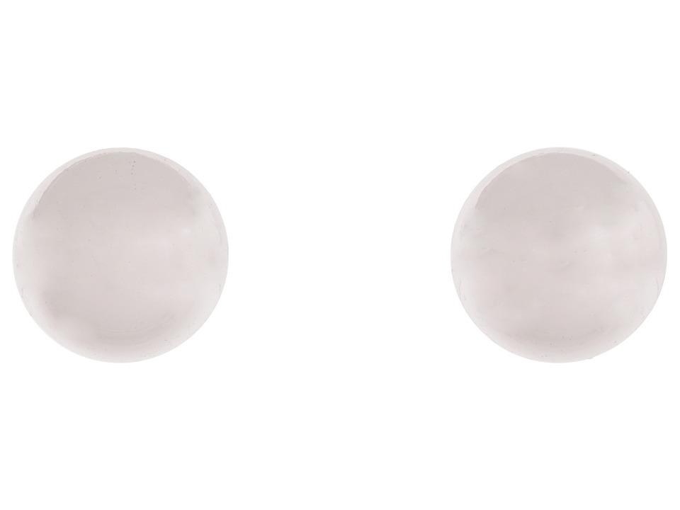 LAUREN Ralph Lauren - 12MM Silver Ball Studs (Silver) Earring