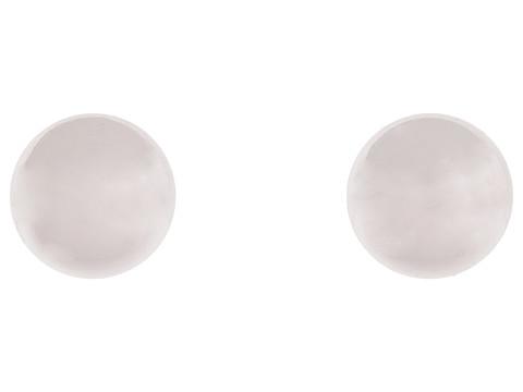 LAUREN Ralph Lauren 12MM Silver Ball Studs - Silver