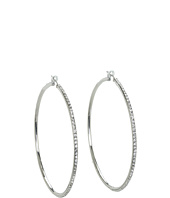 LAUREN by Ralph Lauren - Large Pave Circle Hoops
