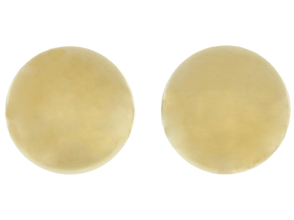LAUREN Ralph Lauren 10MM Gold Ball Studs Gold Earring